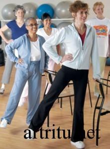 Упражнения для суставов при артрите