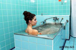 Водные процедуры при артрите