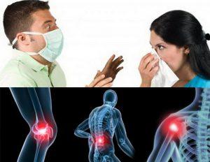Артралгии при заражении инфекцией