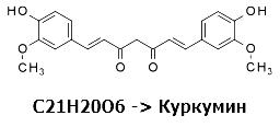 Куркумин - основное активное вещество куркумы
