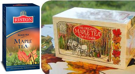 Чай с кленовым листом
