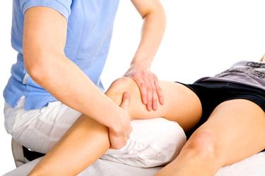 Массаж при гигроме колена