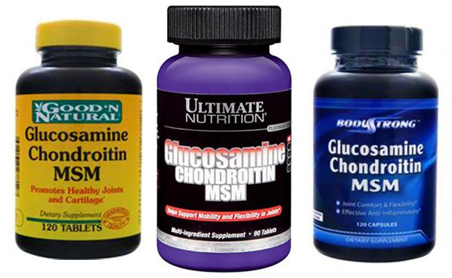 Препарат для суставов Glucosamine & Chondroitin & MSM: отзывы. Glucosamine & Chondroitin & MSM: описание, цена