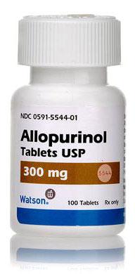 Таблетки аллопуринол 300мг