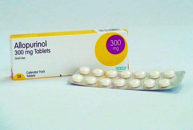 Препарат аллопуринол 300мг таблетки