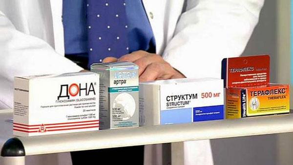Лекарства от хруста суставов