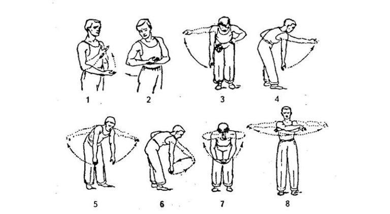 Гимнастика для плечевых суставов