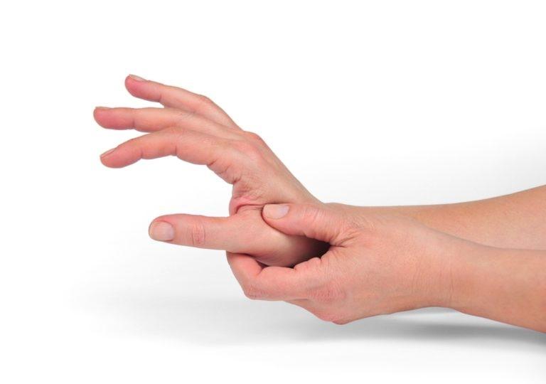 Артроз сустава большого пальца руки