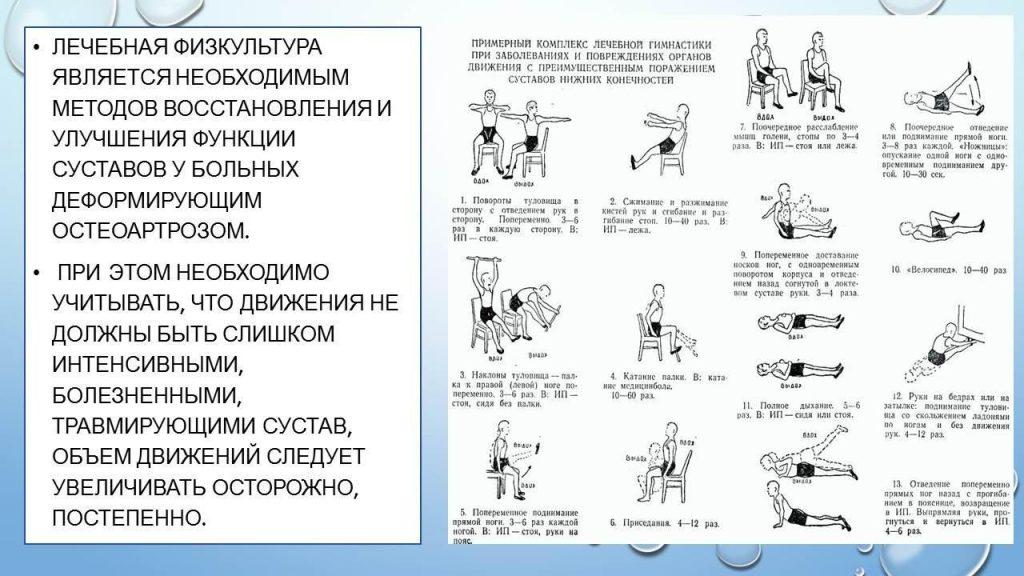 Упражнения ЛФК для утренней зарядки