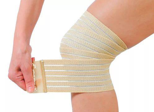 Изображение - Первая помощь при растяжении связок коленного сустава tugaya-povyazka-na-koleno