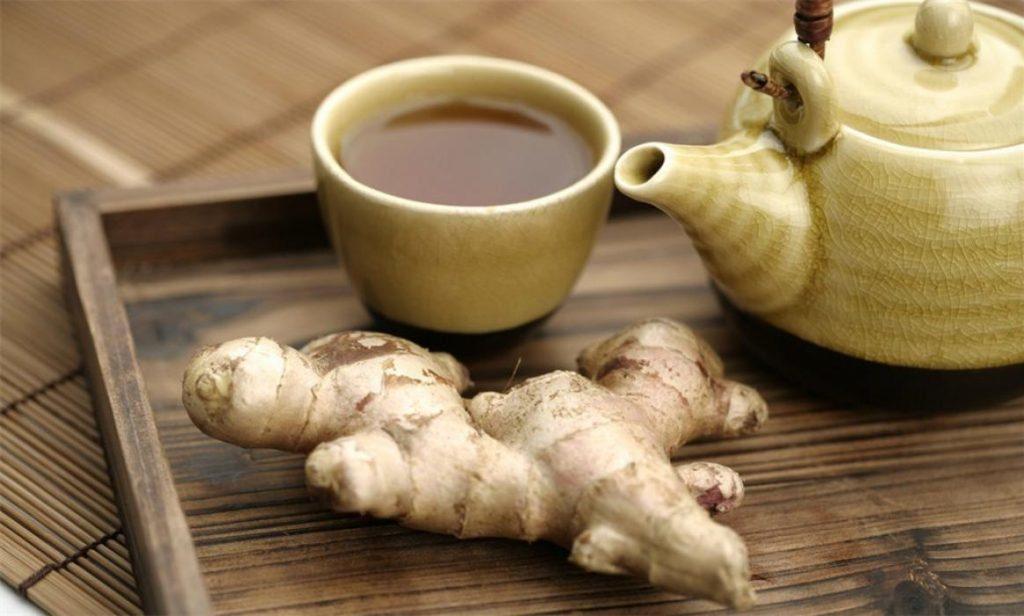 Имбирный чай при подагре