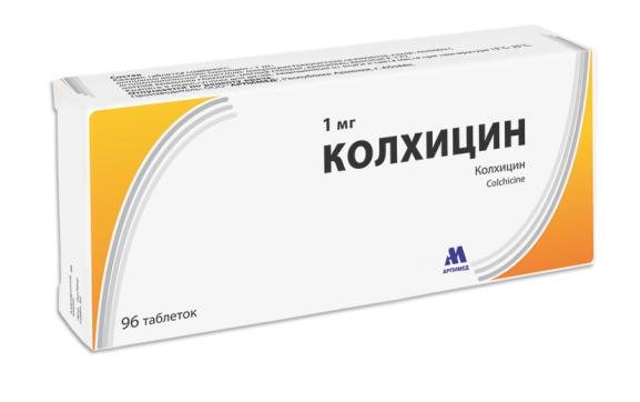 Колхицин – эффективный противоподагрический препарат