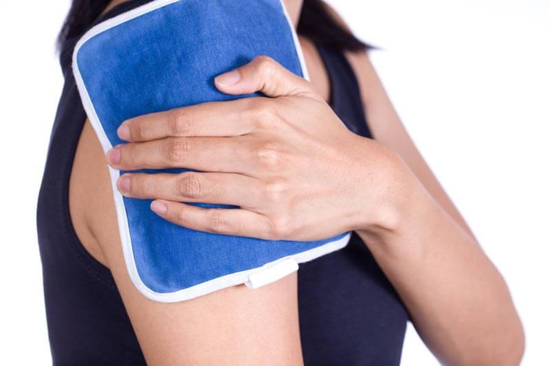 Компресс на плечевой сустав