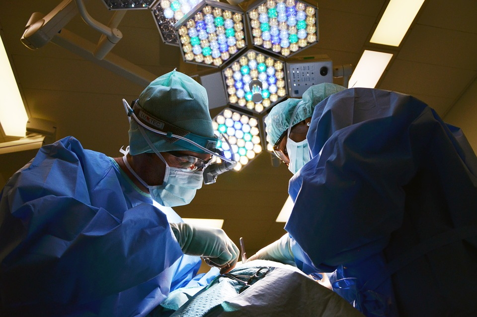 Операция по удалению шишки на ноге