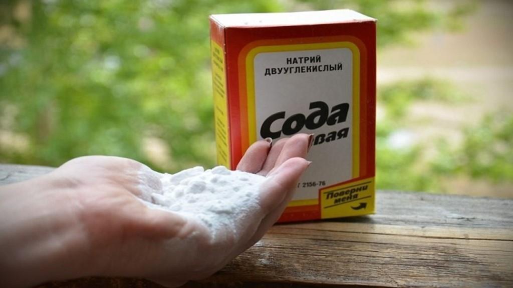 Пищевая сода при подагре