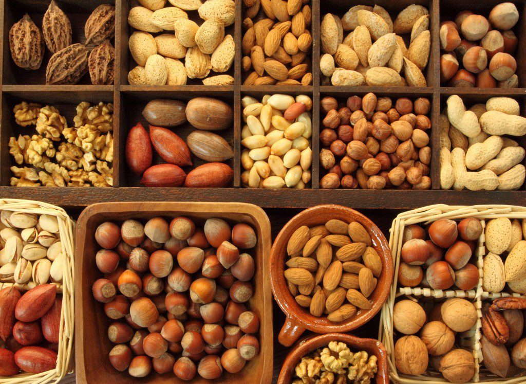 Орехи при подагре